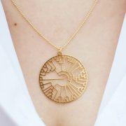 Evolution tree Phylogeny necklaceby Delftia science jewelry