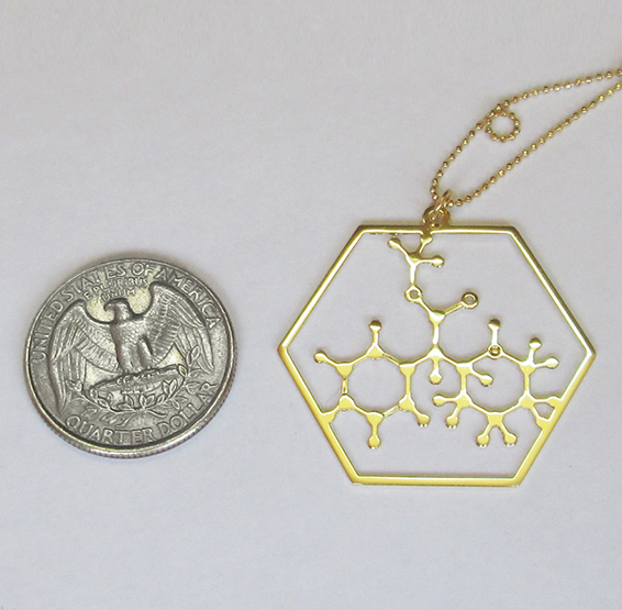 Methylphenidate gold coin