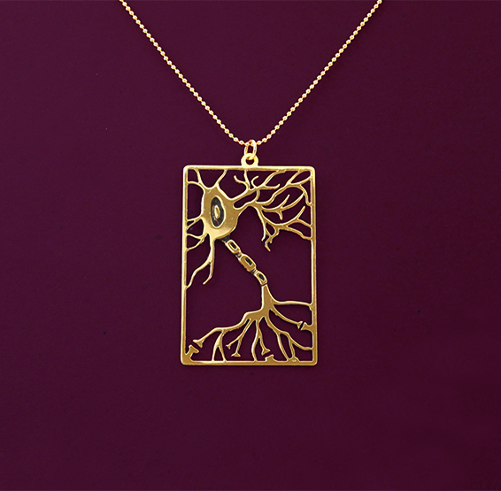 Neuron rectangle in gold
