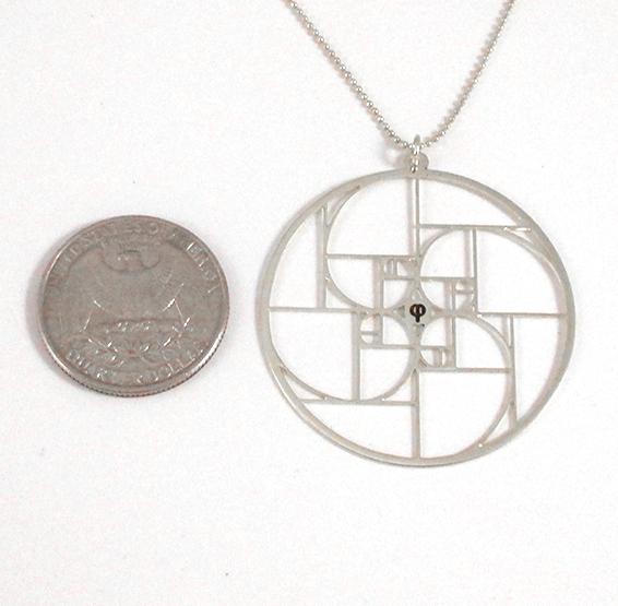 Phi silver coin