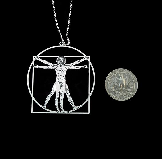 vitruvian man coin
