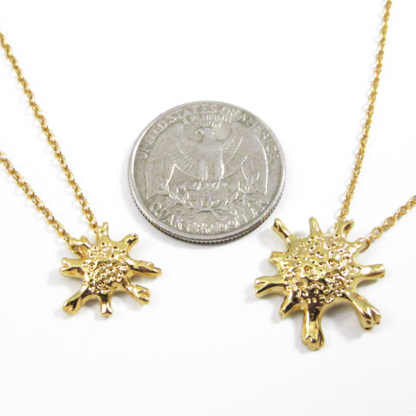 calcarina necklace by Delftia science jewelry