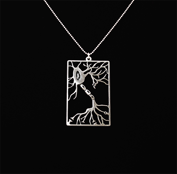 Neuron rectangle in silver