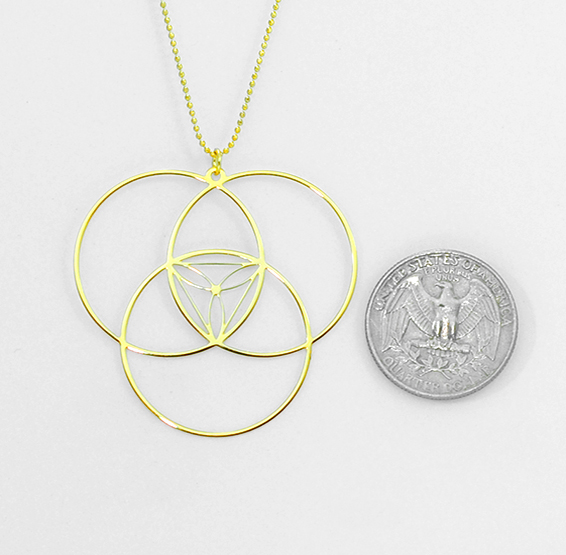 Reuleaux gold coin