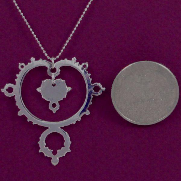 mandelbrot silver coin