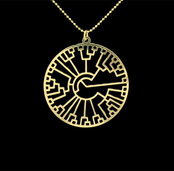 phylogenetic tree in gold