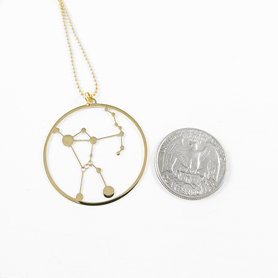 Orion gold by Delftia Science Jewelry