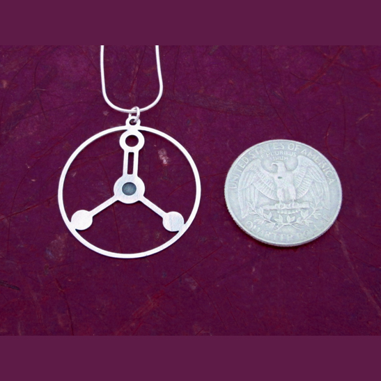 Formalin-silver-necklace-by-Delftia-Science-Jewelry