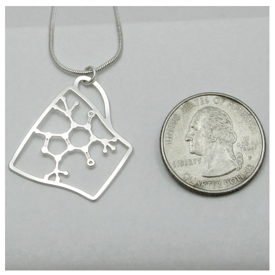 Caffeine-Cup-in-silver-by-Delftia-science-jewelry