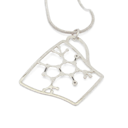 Caffeine-Cup-necklace-in-silver-by-Delftia-science-jewelry